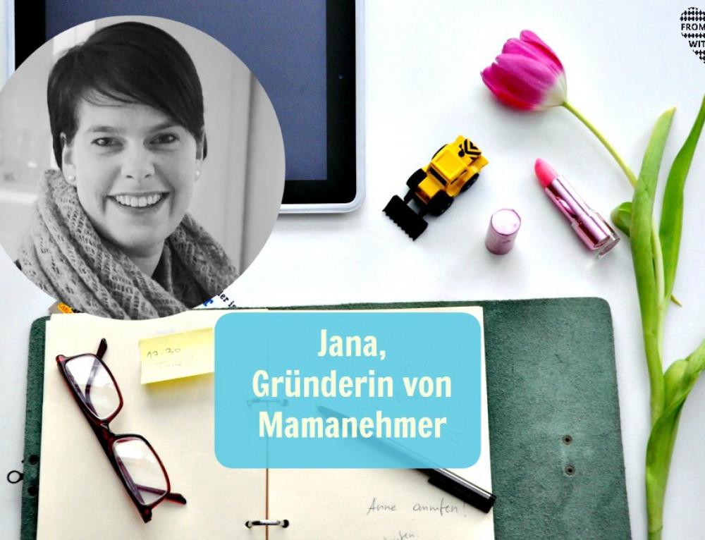 Mama Start-Up: Jana Heinzelmann, Buchautorin und Social Media Beraterin