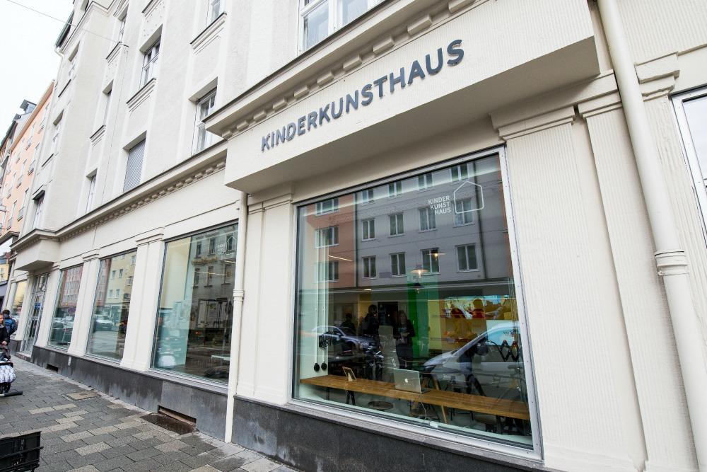 Kinderkunsthaus München neue Location Hohenzollernstraße