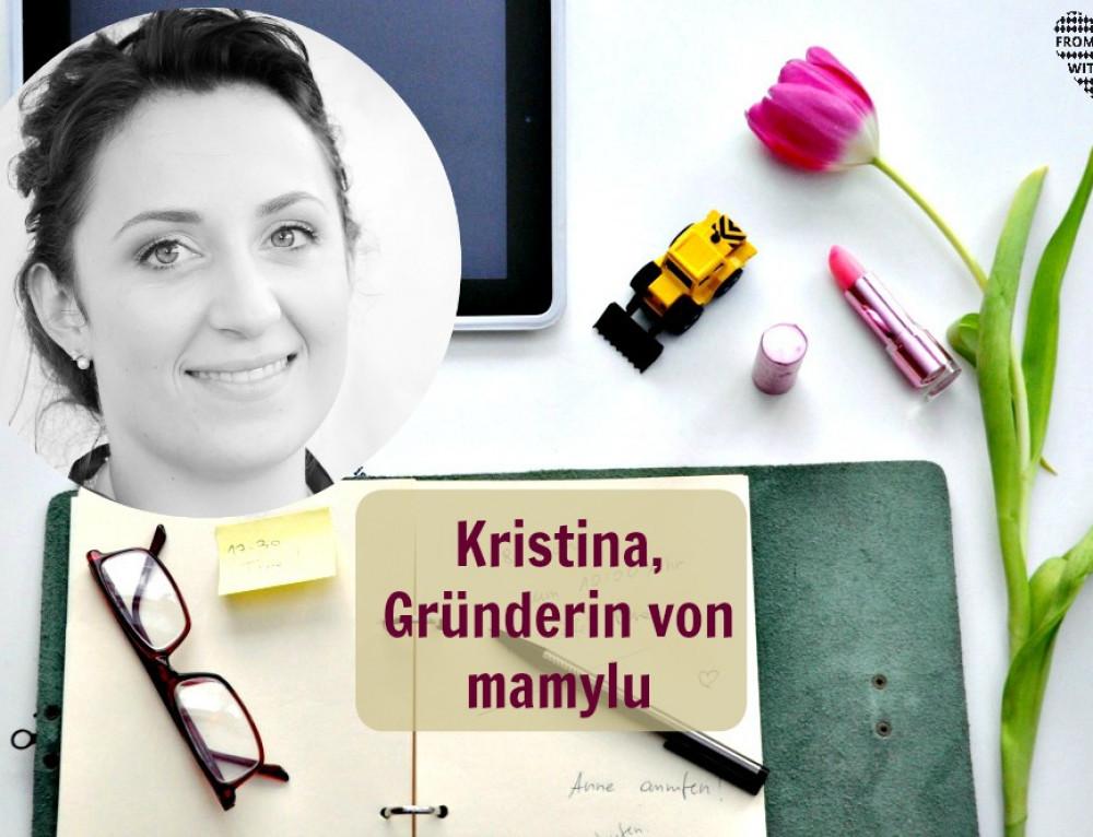 Mama Start-Up: Kristina Lutilsky, Gründerin von mamylu