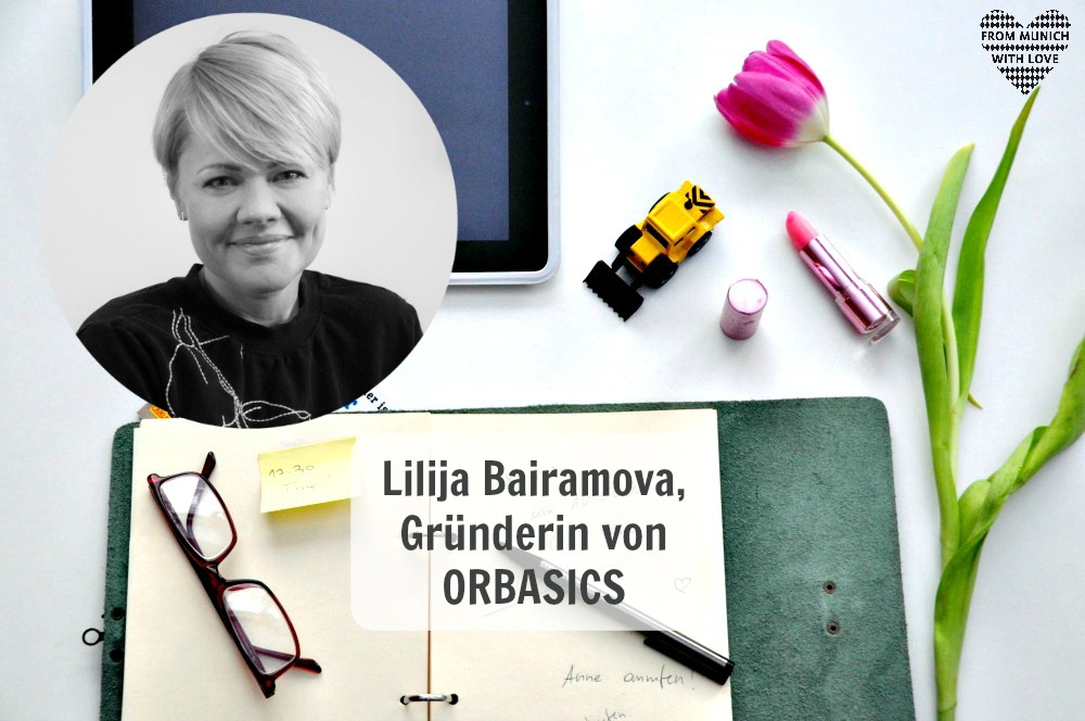 Lilija Bairamova, Gründerin von Orbasics