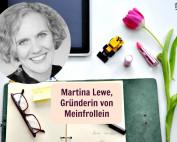 Martina Lewe, Gründerin von Meinfrollein
