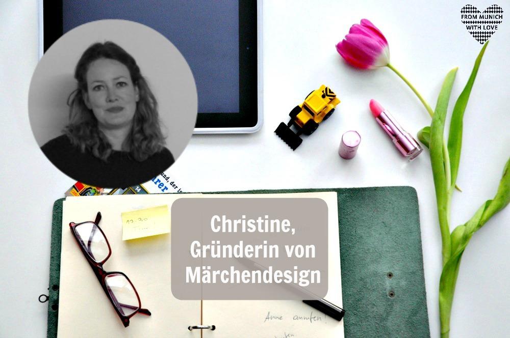 Christine Bogensberger_Gründerin von Märchendesign Shop