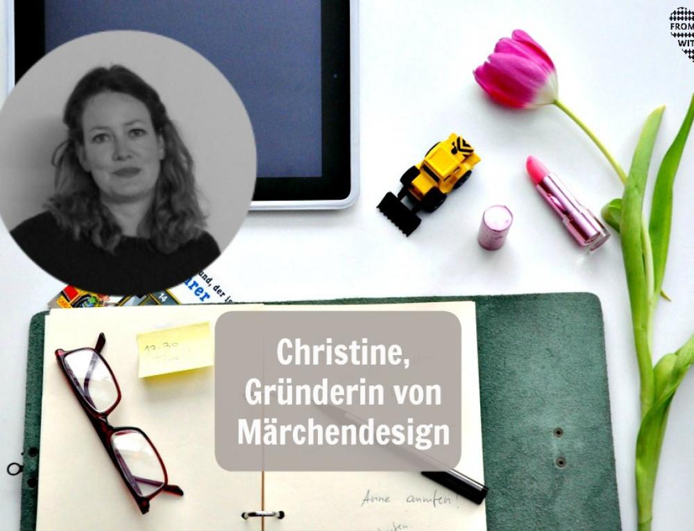 Mama Start-Up: Christine Bogensberger, Gründerin von Märchendesign Shop