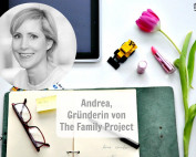Andrea Stadlhuber, Gründerin von The Family Project