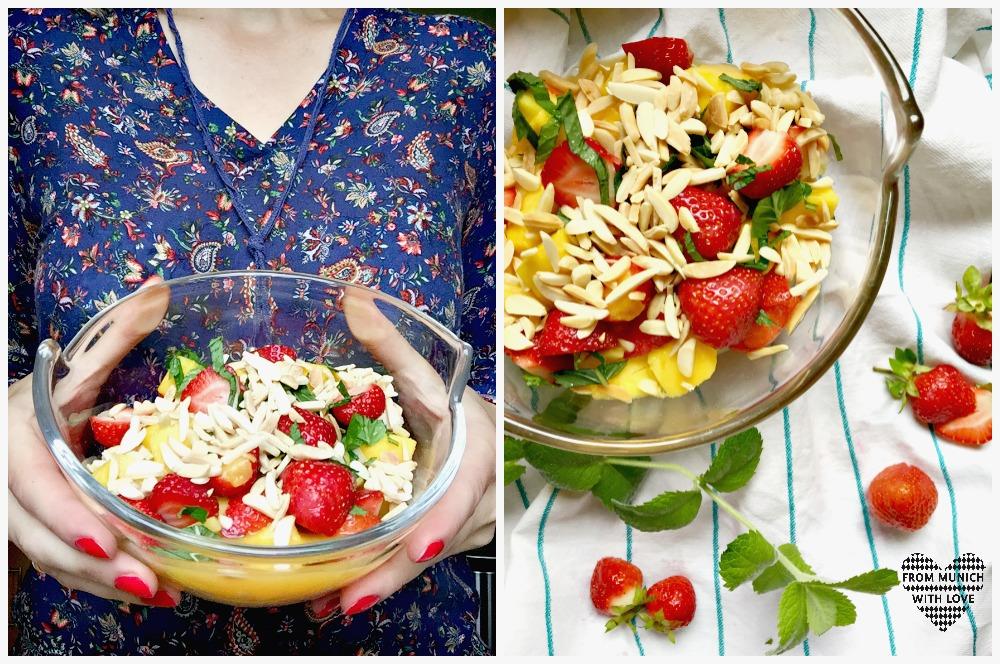 Sommersalat-mit-Erdbeeren-Mango-Minze-Mandeln