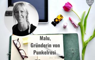 Malu Kohn, Gründerin von Punkelrosi