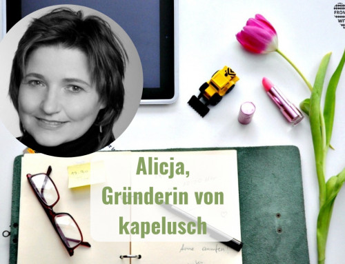 Mama Start-Up: Alicja Hegele, Gründerin von kapelusch