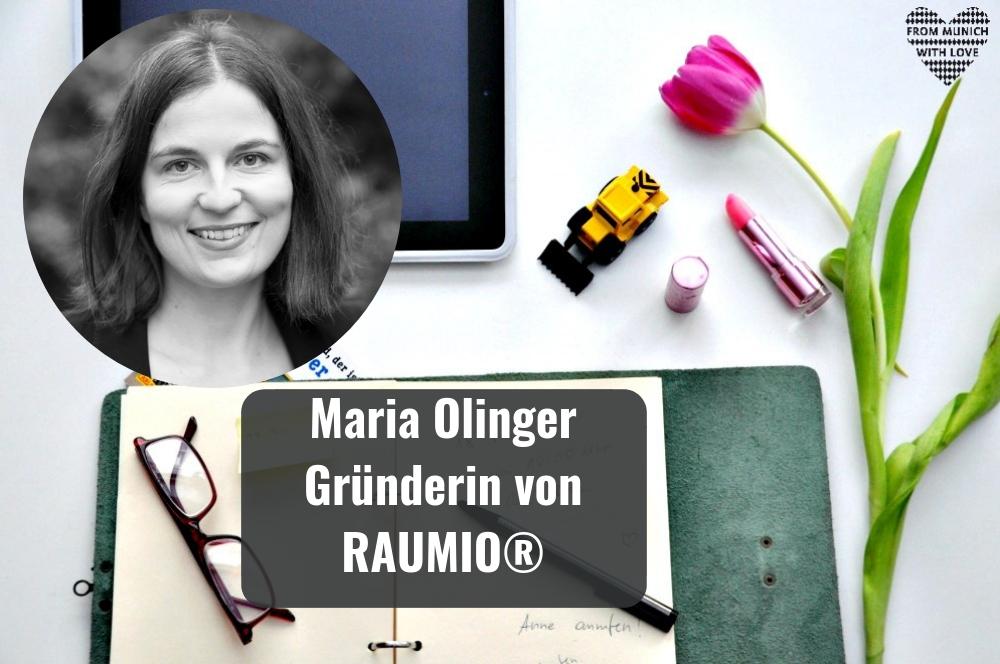Maria Olinger, Gründerin von RAUMIO