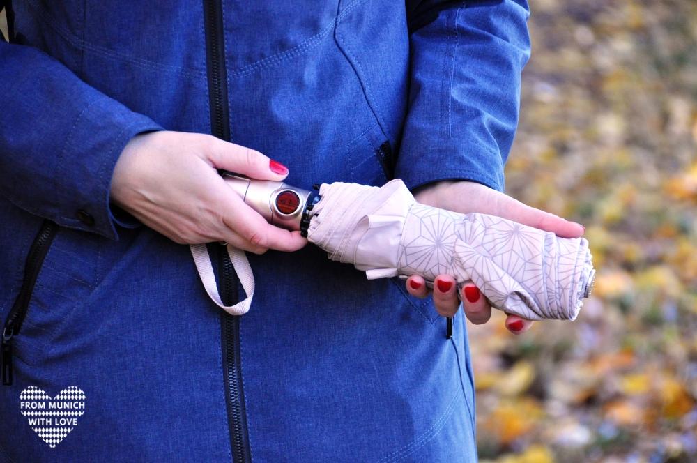 Taschenschirm Knirps mit dem roten Punkt_Jubiläumsedition