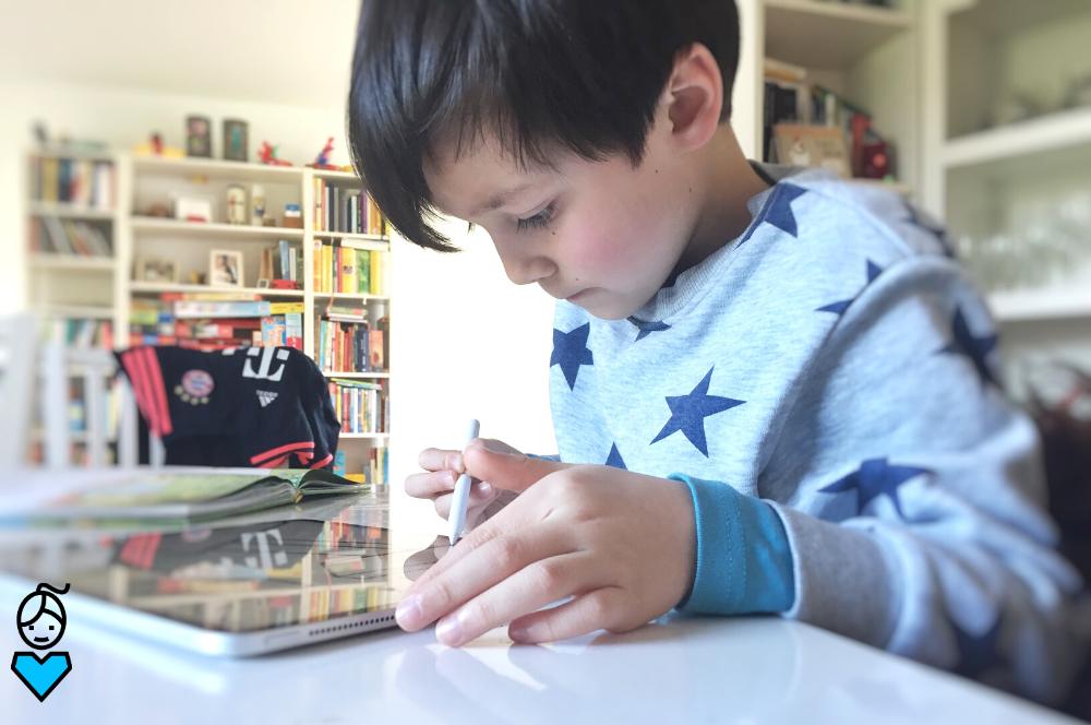 Digital zeichnen lernen mit Kids