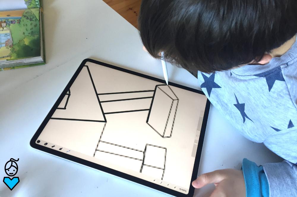 Digital zeichnen lernen mit Kindern