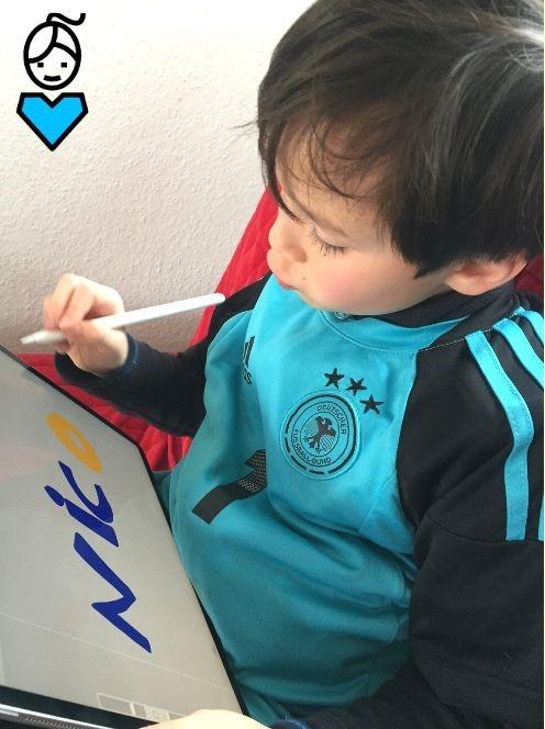 Digital zeichnen lernen_iPad