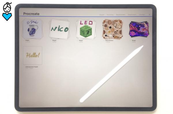Mit Kindern digital zeichnen_App
