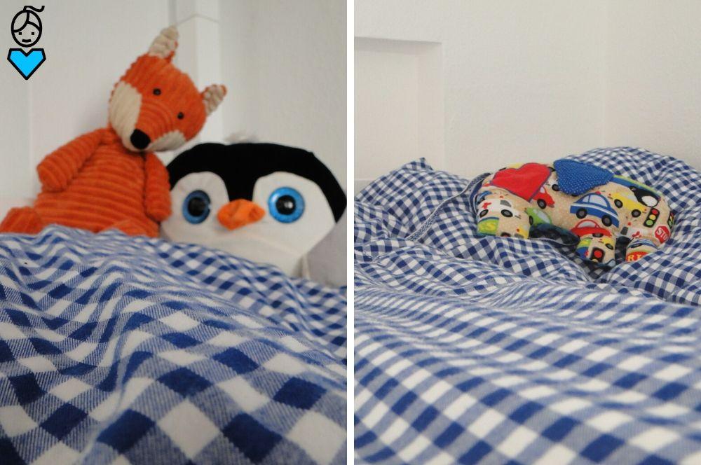 Etagenbett im Kinderzimmer_Bettwäsche