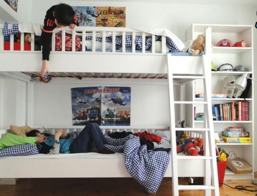 Doppelt hält besser: Etagenbett im Kinderzimmer