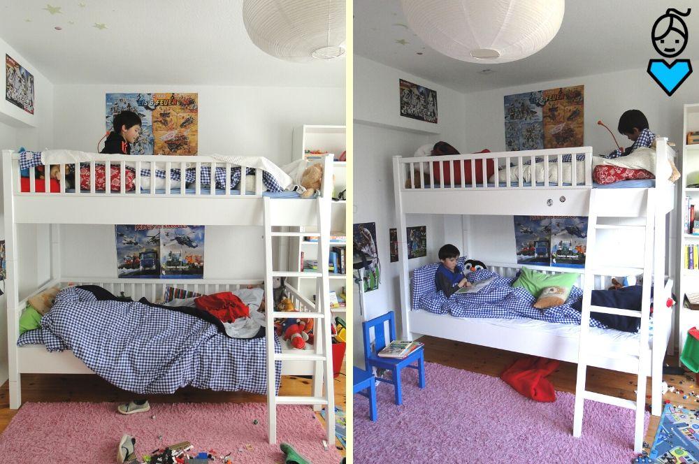 Etagenbett im Kinderzimmer_Hochbett