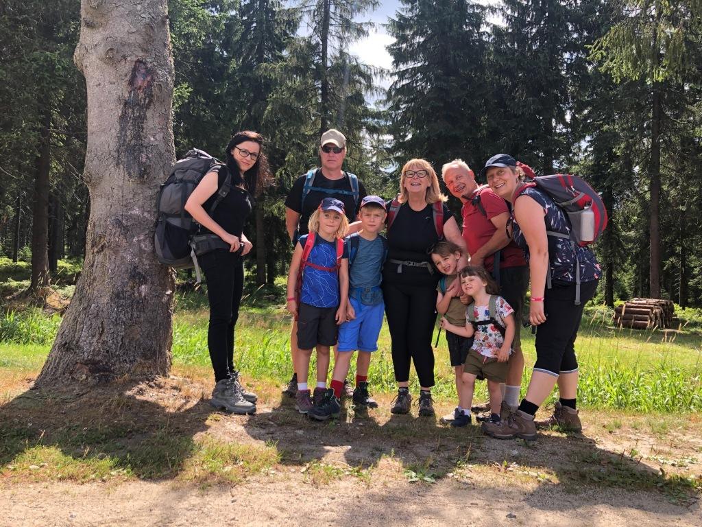Wandern mit der Familie in Polen
